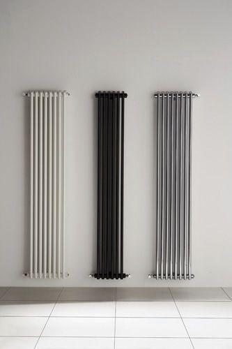 Radiateur à eau chaude / vertical / contemporain / chromé KEM D.A.S