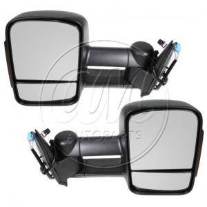 2003 - 2006 Chevy Silverado 2500 Power Heated Signal Telescoping Towing Mirror Pair