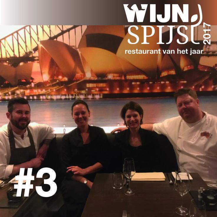 Wijn Spijs Restaurant van het Jaar no. 3 Southern Cross in Heemstede