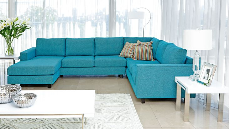 Yarra MK2 Corner Modular Lounge Suite with Chaise