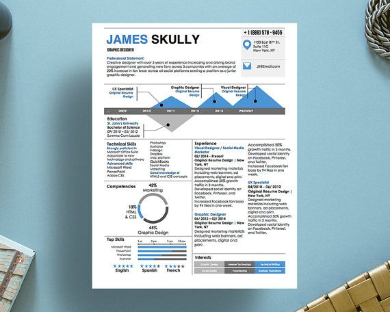 1000+ images about James Skully Infographic resume template on ...