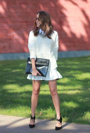 Polina Kirovich | Total White | Chicisimo