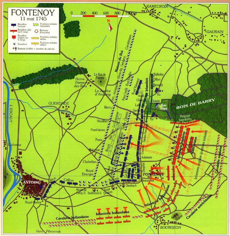 Schlachtaufstellung - Karte