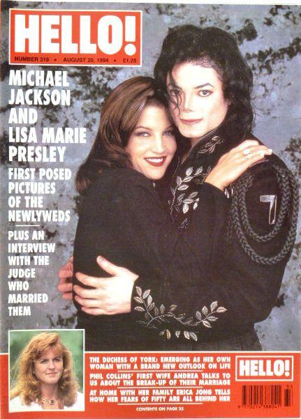 HELLO! Magazine Issue 318 Andrew & Sarah (20 Aug, 1994)