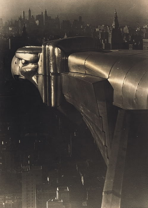 Chrysler Tower Gargoyle - 1930  By Margaret Bourke-White