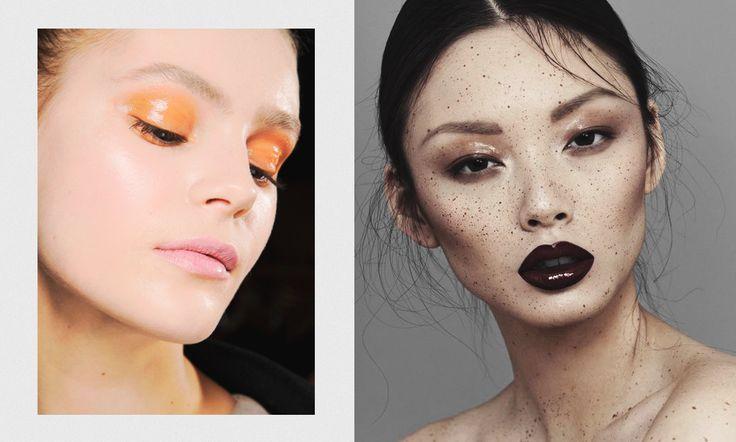 #макияж #подводка #тени #makeup #тренд #желтый #beauty #стиль #мода #влажноевеко #мокрыйсмоки #смоки #глянец