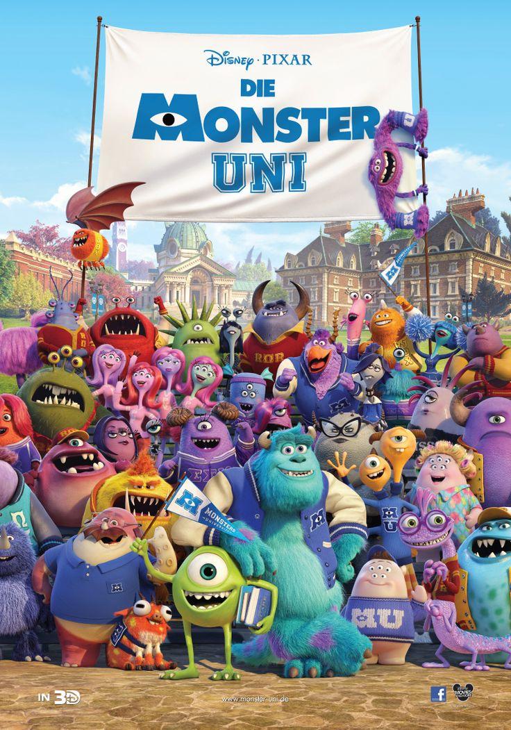 Die Monster Uni #DieMonsterUni ©Disney•Pixar