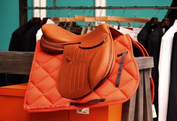 www.pegasebuzz.com/leblog   Equestrian Fashion : La sellerie du Saut Hermès 2013