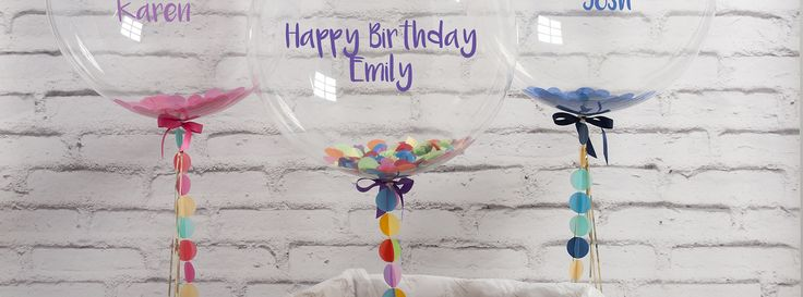 Bubblegum Balloons - Making Balloons Awesome. Buy Personalised and Themed Helium Balloons Delivered Next Day For Your Event, Party or Wedding.