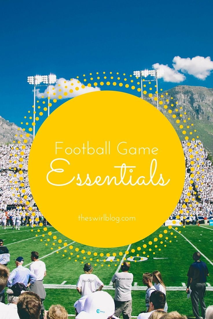 Football Game Essentials  A Saturday of football m #Apartment #Bag #Big #Buzz #c… – College Scholarships