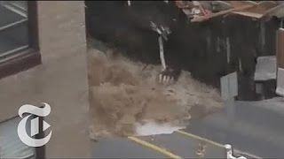 0:26  Giant Sinkhole Swallows Car, Road in Ottawa | The New