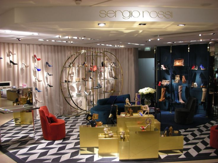Sergio Rossi chose our armchairs LEA for SR's boutiques worldwide. Courtesy of…