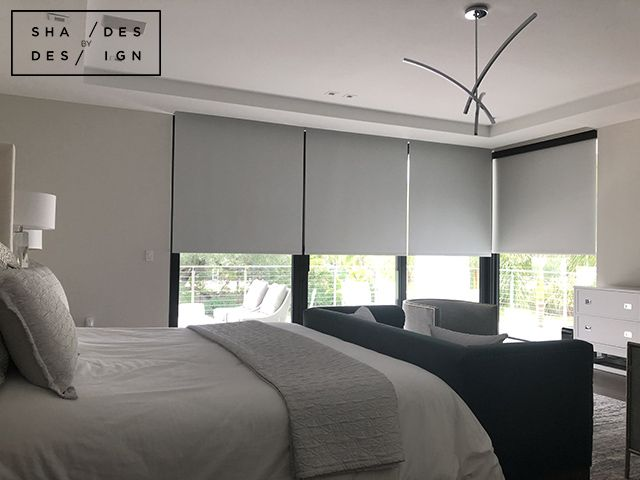 Motorized Blackout Shades Pinecrest Somfy Shades In Pinecrest Blackout Shades Window Treatments Living Room Window Treatments Bedroom