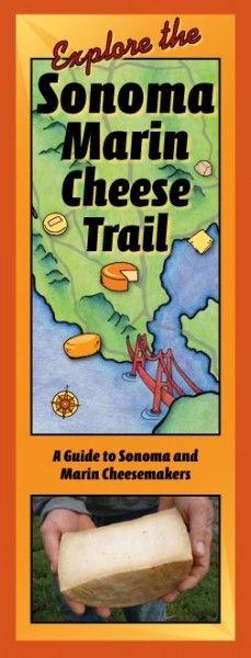 Sonoma Marin Cheese Trail Map  (Sonoma County, California)