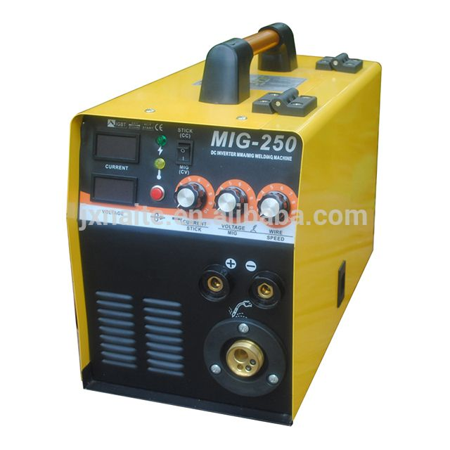 230V IGBT Inverter 200a mig welder soldadora mig from gold supplier