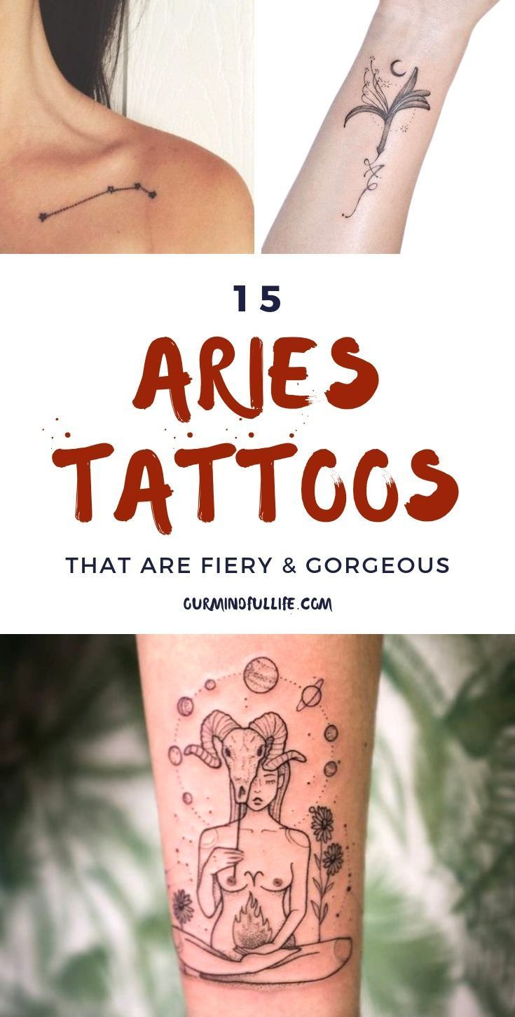 03be101fb 15 Aries Tattoos That Are As Fiery As You Are - Our Mindful Life //