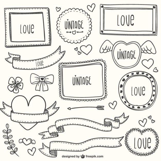 Adornos románticos