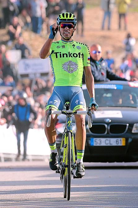 Alberto Contador wins the final stage at Volta ao Algarve 2016 (Tim de Waele/TDWSport.com)