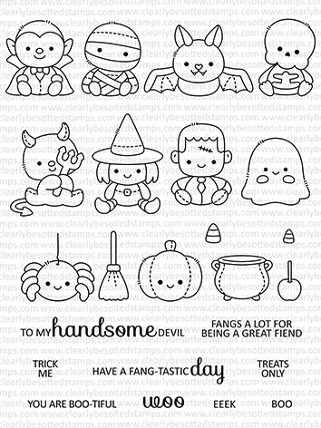 With halloween on its way, you don't have to just decorate your home and yard to reflect your love for this time of yea. Clearly Besotted HALLOWEEN PLUSHIES Clear Stamps in 2021 | Halloween drawings, Halloween doodle ...