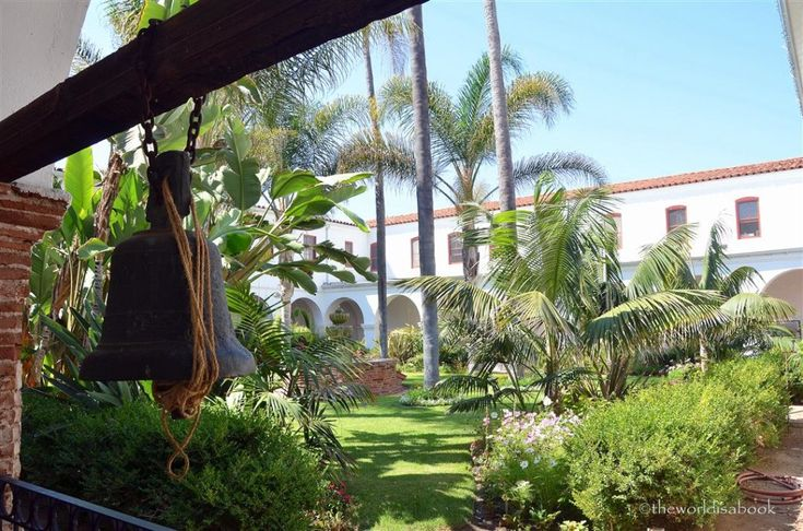 The King of the California Missions: Mission San Luis Rey - The World Is A Book 322 N. Cleveland St. | Oceanside, CA Daily 8:30am-4:30pm closed Thanksgiving and Christmas hours subject to change without notice