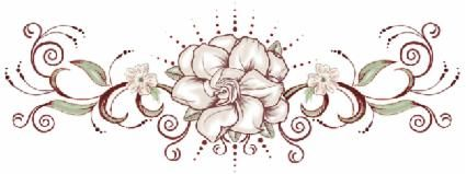 hot rod car tattoos: gardenia tattoo design