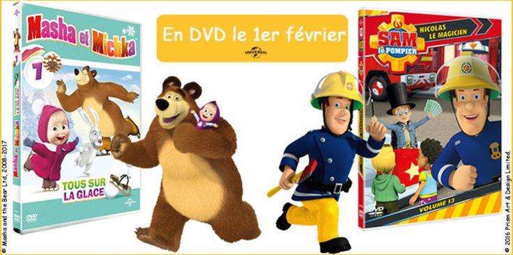 """""""Masha & Michka"""" + """"Sam le Pompier"""" à gagner"""