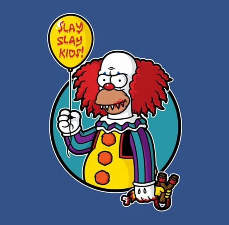 745 best simpson 39 s tattoos ideas images on pinterest - Clown simpson ...