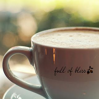 bliss is coffee