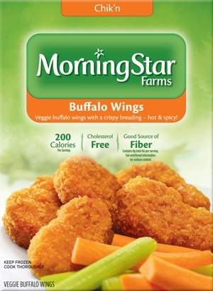 MorningStar famrs buffalo wings!