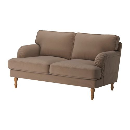 STOCKSUND Loveseat - Ljungen beige, light brown - IKEA