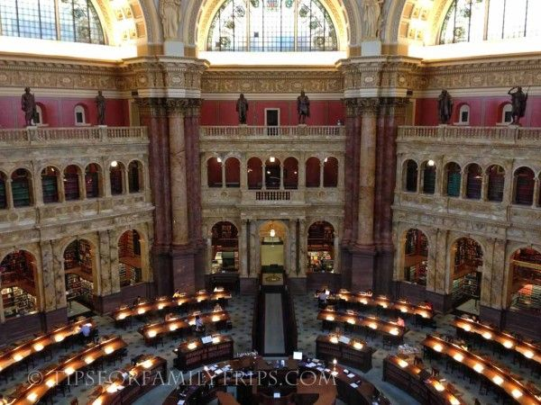 """Library of Congress Tours should be at the top of your """"must-see"""" list for Washington D.C. Here are 5 tips to make the tour easy and enjoyable!"""