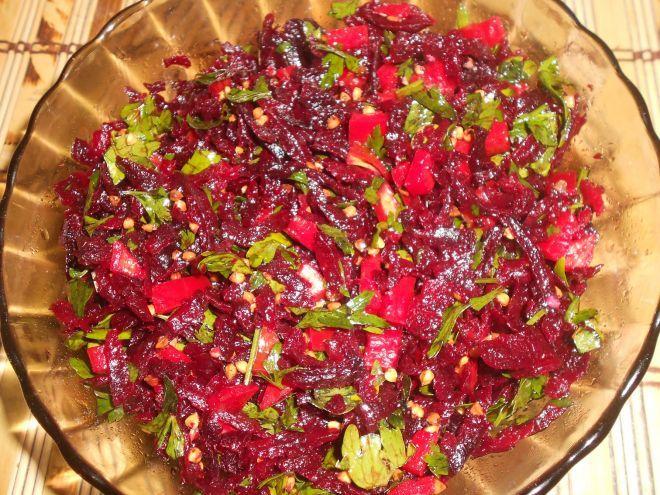 Rețetă Altele : Salata de sfecla rosie si hrisca de Gatituleojoaca