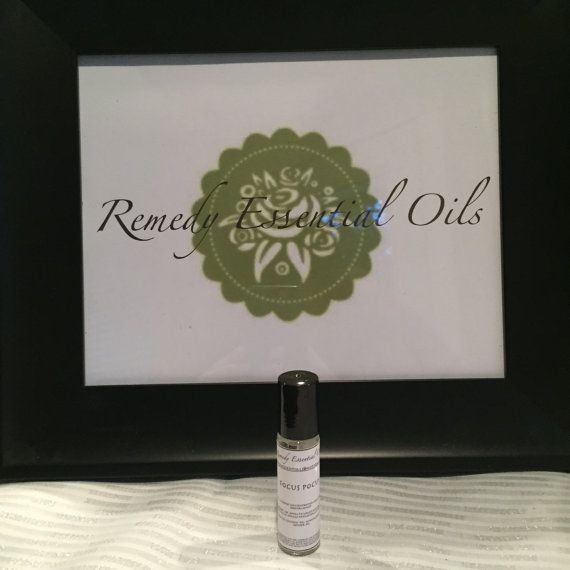 Focus Pocus Essential Oil Blend for by RemedyEssentialOils on Etsy