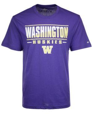 Colosseum Men's Washington Huskies Two Face T-Shirt - Purple XXL