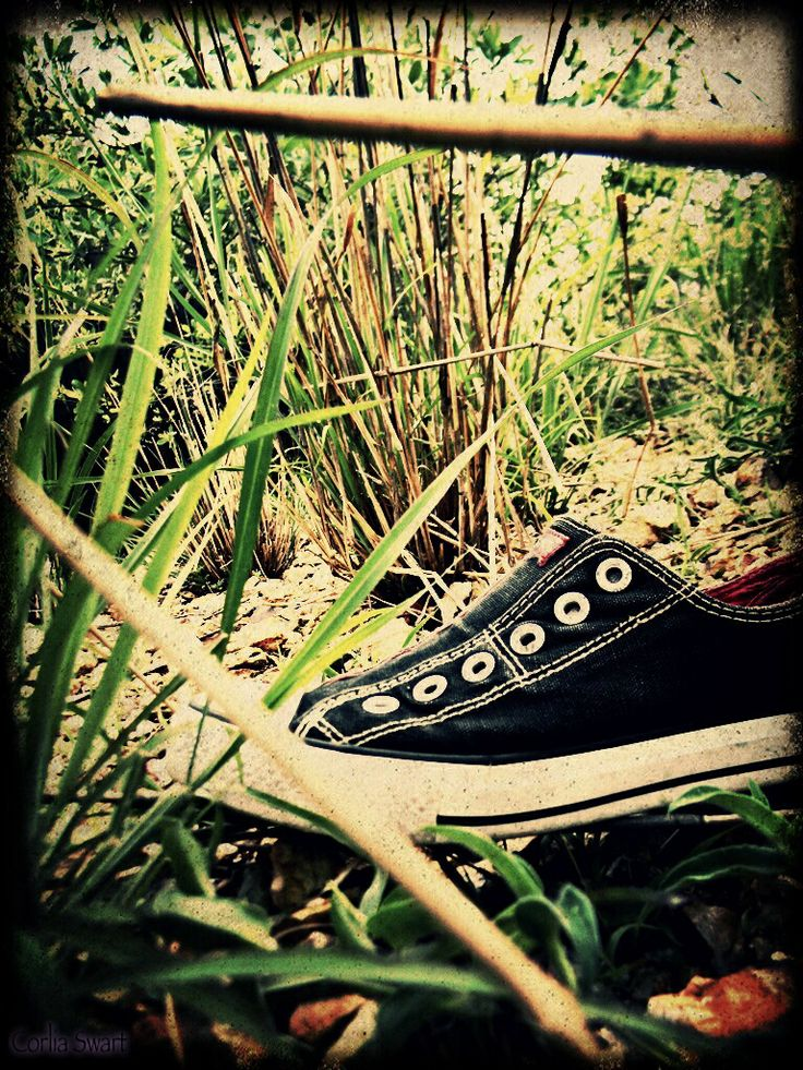 Shoe lying around