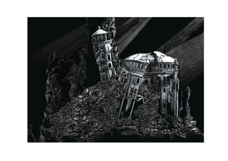 """Ruines"" Yohan Monange"