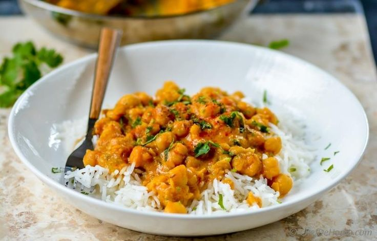 25 minutes for a Healthy and Lite Indian Curry Dinner | chefdehome.com