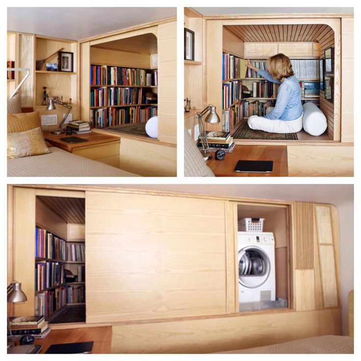 Hidden reading nook | Reading nook, Room decor, House