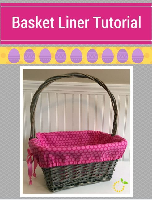 Skip store-bought and personalize your Easter baskets this year by making your own with this simple and easy basket liner tutorial!