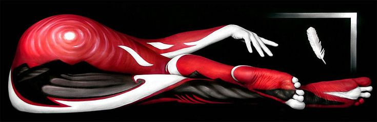 Mind-Bending Body Painting Work by Craig Tracy | Abduzeedo | Graphic Design Inspiration and Photoshop Tutorials