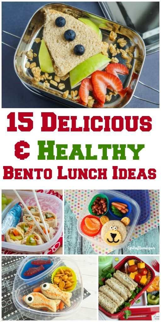 Ditch boring brown bag lunch for one of these 15 Delicious & Healthy Bento Lunch Ideas just in time for back to school. It's kids-friendly and also perfect adults.