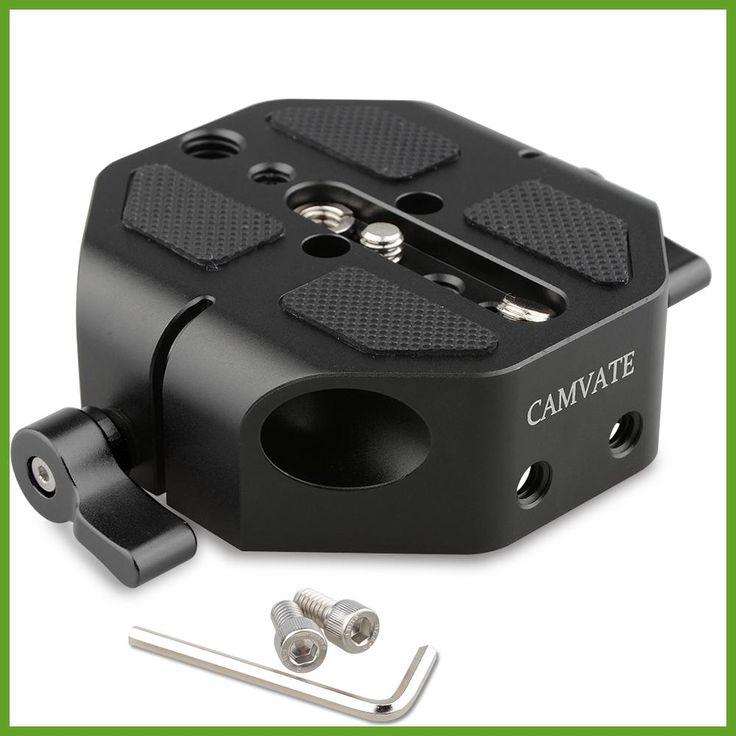 CAMVATE DSLR Camera Baseplate For Canon EOS C100/300/500 Support Rail System Base Plate Fondos De Estudio Fotografia Kit C1448