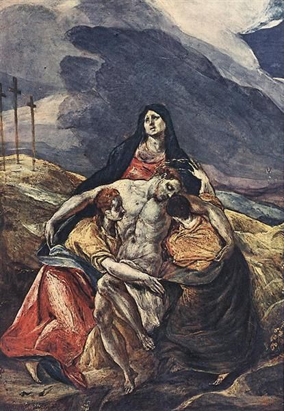 Pietà (The Lamentation of Christ), 1575 - El Greco