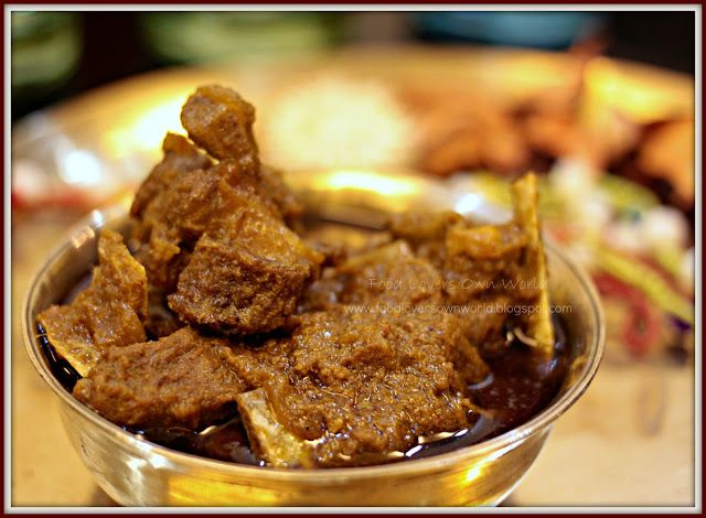 Food Lover's Own World: Mom-in-law's Special Mutton (A typical Bong Mutton…