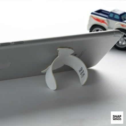 Snapwings is the most pocket-friendly phone stand on the market. It's sleek and minimal design compliments any mobile device.  We Have Launched on Kickstarter! Click the Link Below! www.kickstarter.com/projects/650281330/snapwings