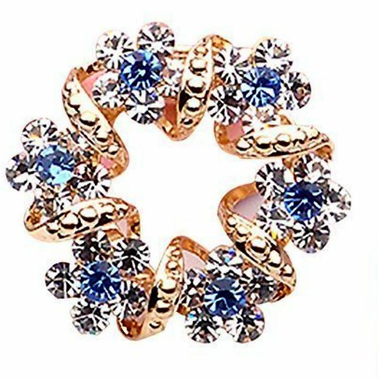 #Gold #Sapphire #Diamond #Brooch #Pins #Jewellery