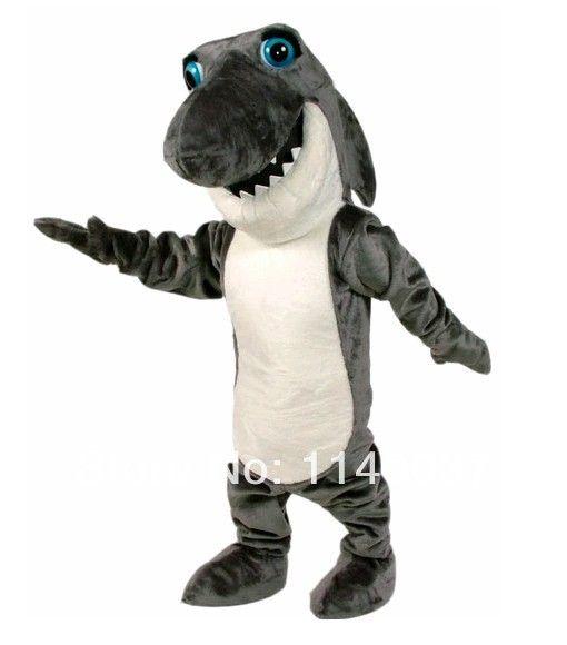 Diy косплей темно-серый джонни челюсти акула костюм талисмана карнавальный костюм необычные костюмы ну вечеринку