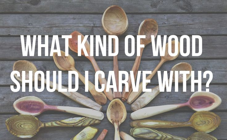 Whats the best wood for carving spoons? - Spoon carving tips with Lotso...