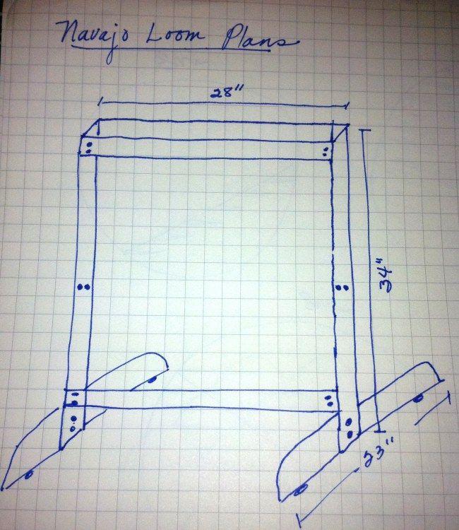 Plans For Rag Rug Loom: Make Your Own Navajo Loom/plans.