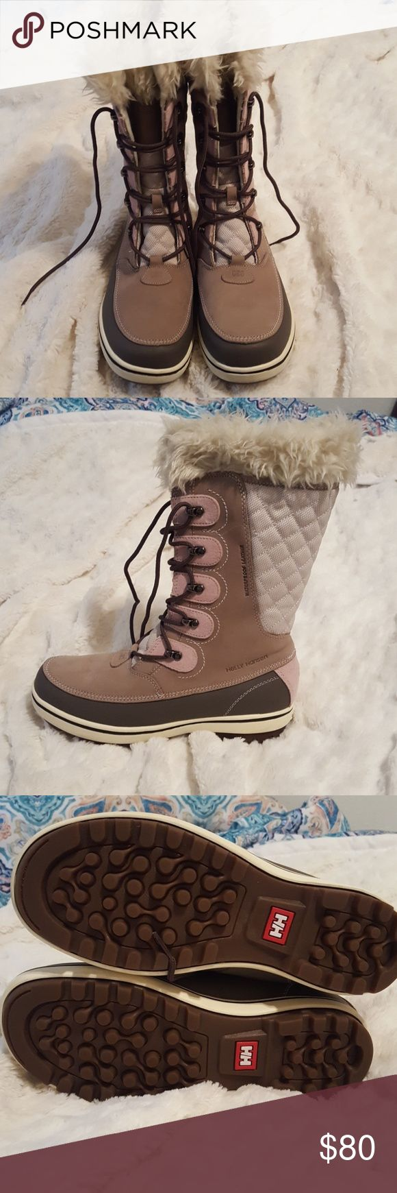 Helly Hansen snow boots Helly Hansen snow boots; only worn once *PRICE IS FIRM* Helly Hansen Shoes Winter & Rain Boots